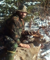 2017: Mark Booth with a Southern Adirondack 8-pointer taken on Nov. 20.