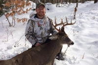 2017: Trevor Tormey of Old Forge with a 145-pound, 10-pointer taken Nov. 21 in Webb, Herkimer County.