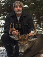2017: Karl G. Abrams of Piseco with a Hamilton County 10-pointerer taken Nov. 27.