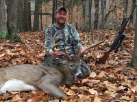 2017: Frank Brownell of Corinth, NY with a 10-pointer taken Nov. 22 in Lake Luzerne, Warren County.
