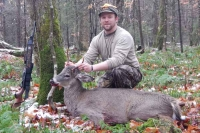 2017: Chad Johnson, with an Adirondack taken Nov. 16 at the Witamy Hunting Club, Hamilton County