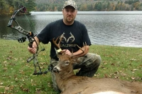 2017: John Zeis of Wells, NY with a Southern Adirondack 8-pointer taken Oct. 10 during the archery season.