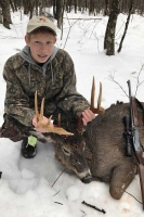2018: Colby Kaczor, Caroga Lake, NY. 119-pound, 9-pointer taken Dec. 2 in Wells, Hamilton County.