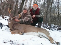 2018: Ryan Cole, Potsdam, NY: 165-pound, 8-pointer taken Nov. 25 in Santa Clara, Franklin County