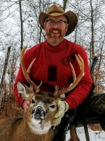 2018: Gary Askins, Lake Luzerne, NY. 170-pound, 8-pointer taken Nov. 18 in Warrensburg, Warren County.