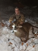2018: Jeff Laware with a 202-pound, 10-pointer taken Nov. 13 in Lake Luzerne, Warren County.