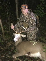 2018: Malcom Kellogg of Auburn with a Herkimer County buck taken Oct. 1 in Big Moose Plains.