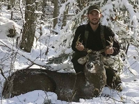 2018: John Pettinelli, Rome, NY. 160-pound, 7-pointer taken Nov. 11 in Webb, Herkimer County.