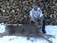 2018: Trevor Tormey tracked down this 160-pound, 8-pointer with a 20-inch spread on Nov. 1.