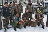 2018: Good times at the West River Hunt Club in Hamilton County with an 8- and 10-pointer taken Nov. 10.