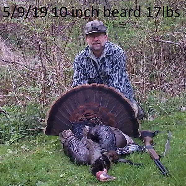 Dave First of Rome, NY with an Oneida County gobbler taken May 9.