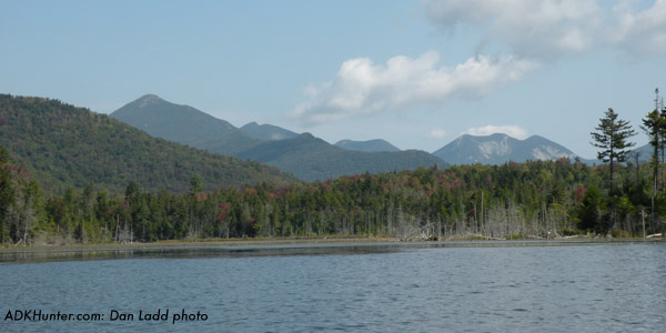 The High Peaks from Upper Boreas Ponds. Dan Ladd photo